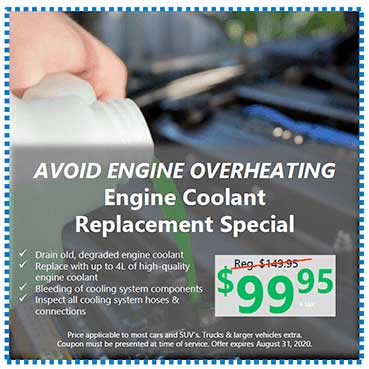 Engine Coolant Replacement